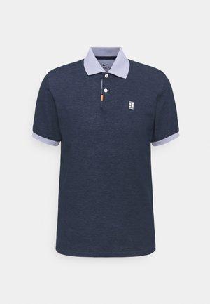 THE SLAM SLIM - Polo shirt - obsidian/indigo haze