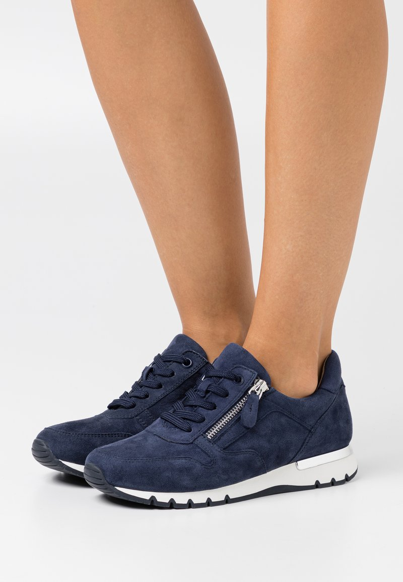 Caprice - WOMS LACE-UP - Trainers - ocean