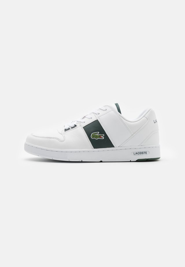 THRILL - Baskets basses - white/dark green