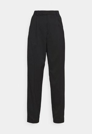 JULIE TROUSER - Trousers - black