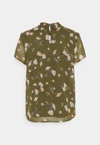 Vero Moda - VMZALLIE  - Print T-shirt - ivy green/zallie - 1