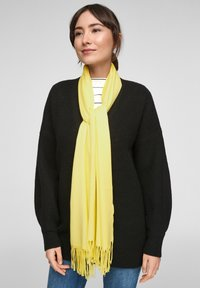 s.Oliver - Scarf - light yellow - 0