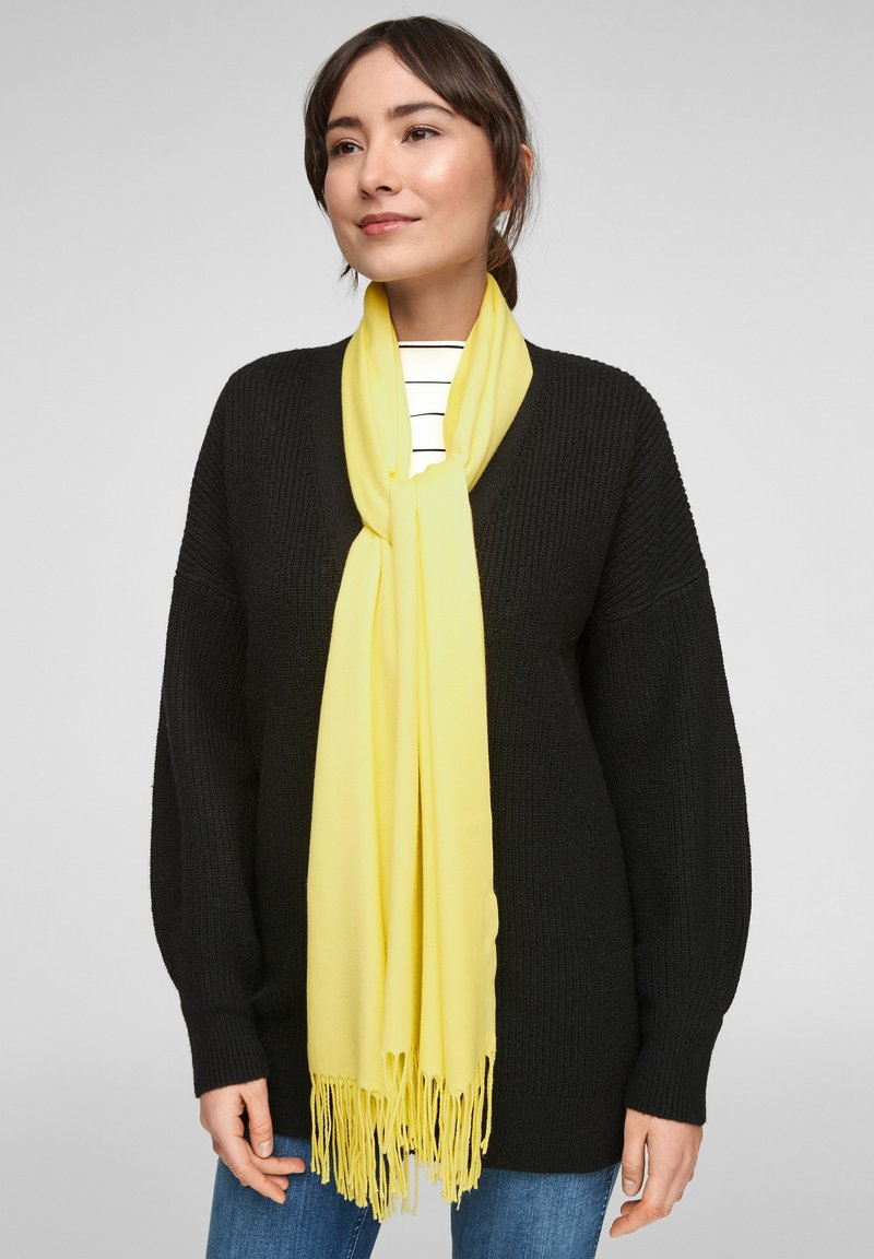 s.Oliver - Scarf - light yellow