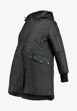 FAITH 3-IN-1 THIGH BOMBER PUFFER COAT - Winter coat - black