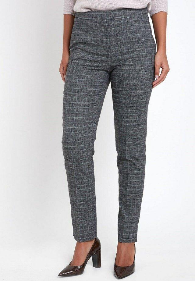 CIGARETTE PANTS - Trousers - gris anthracite