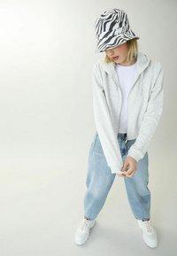 Pimkie - Zip-up hoodie - grau meliert - 1