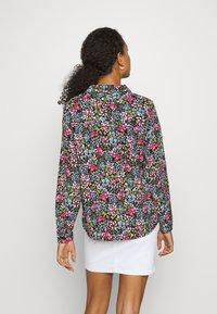 JDY - JDYLION - Button-down blouse - black/multicolor - 2