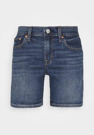 SPENCER ROLL - Denim shorts - medium destroy