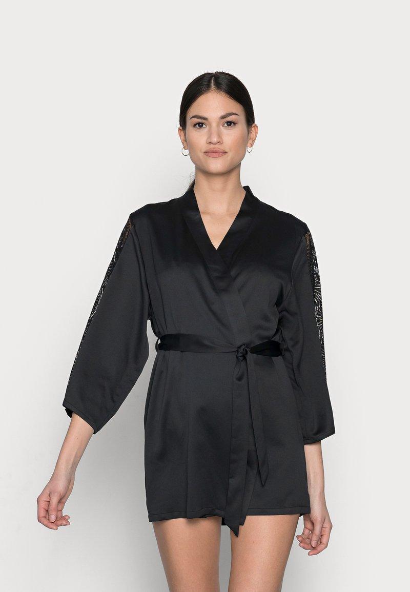 Etam - ESCALE DESHABILLE - Dressing gown - noir