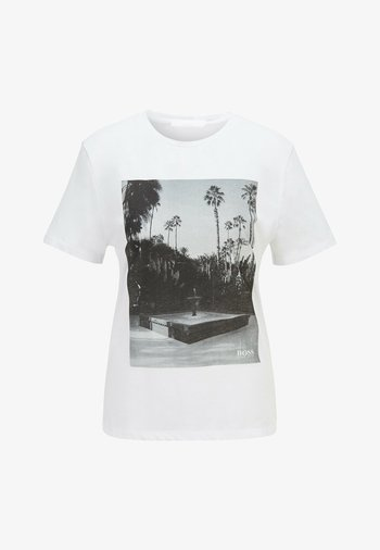 EIMA - Print T-shirt - natural