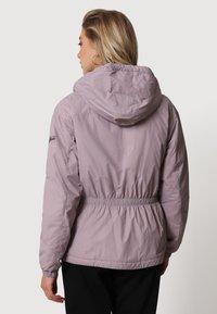 Napapijri - A-CIRCULAR SHORT - Light jacket - sea fog pink - 2