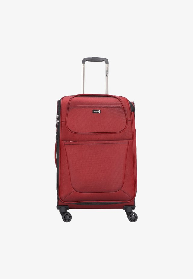 UNBEATABLE  - Valise à roulettes - ruby red