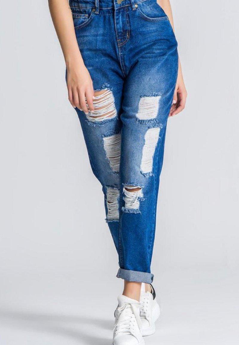 Gianni Kavanagh - Straight leg jeans - medium blue