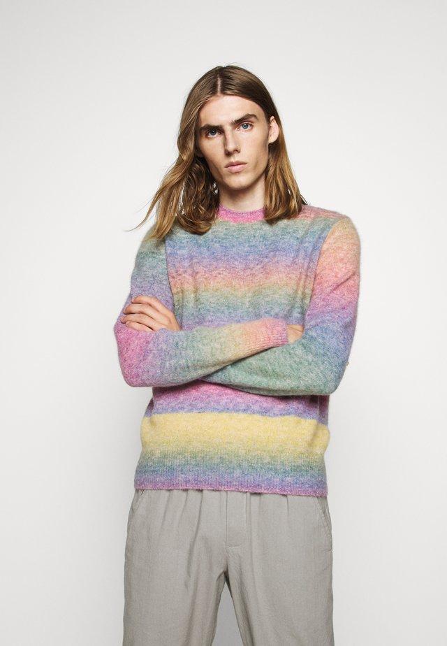 LEON CREW - Strikpullover /Striktrøjer - rainbow