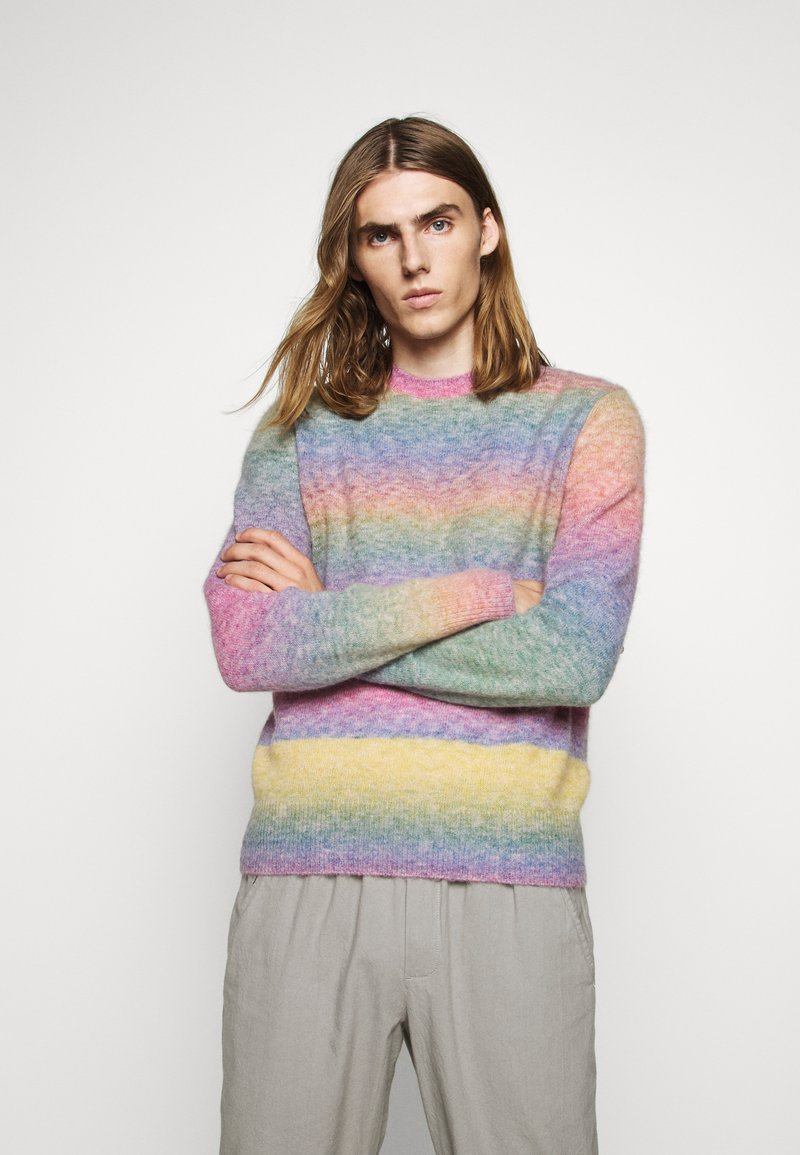 rag & bone - LEON CREW - Jumper - rainbow