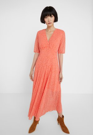 MUMBAI - Vestido informal - coral/flame orange/off white