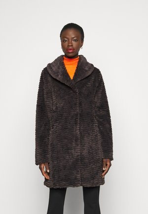 Classic coat - grey marl