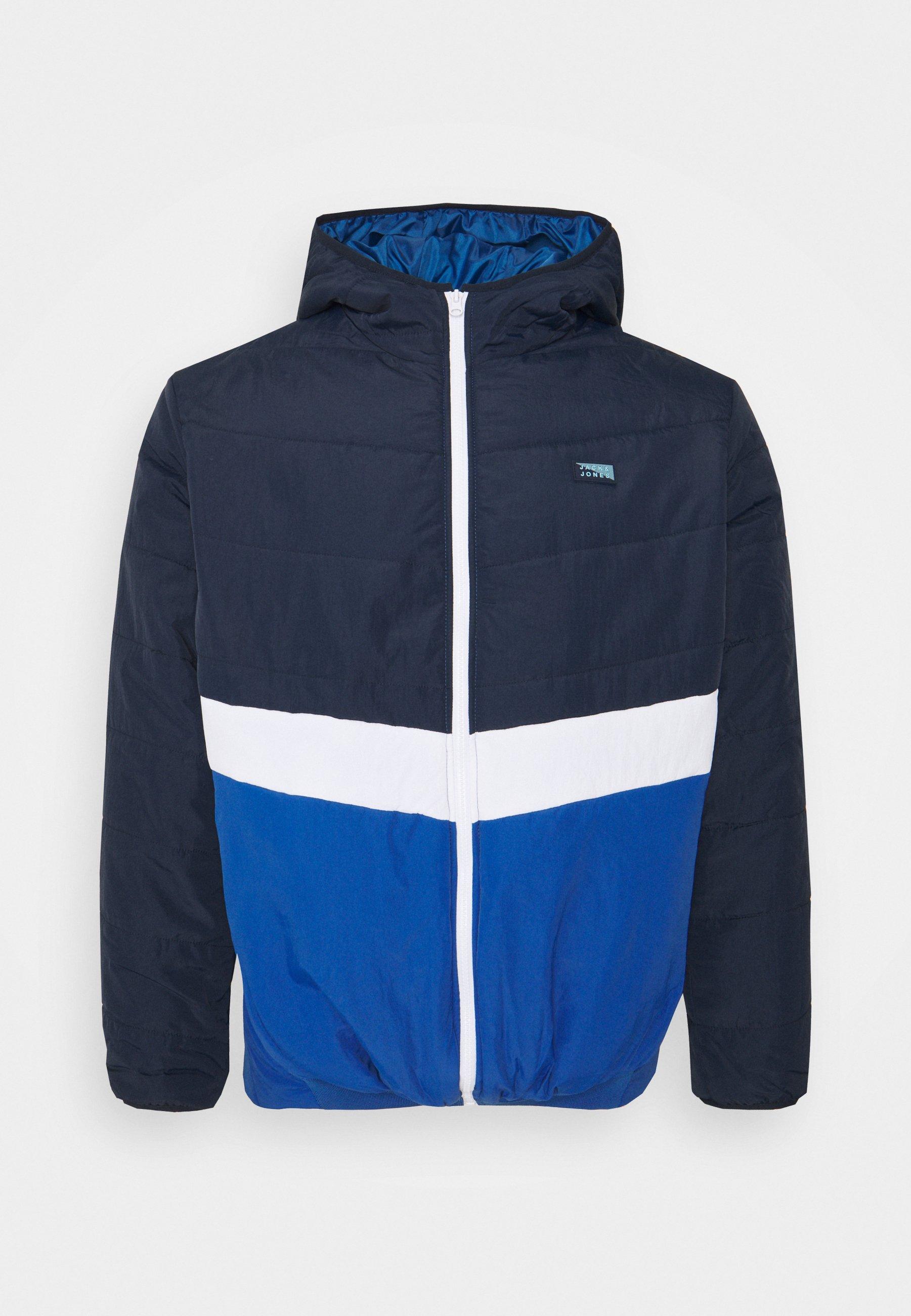 Men JCOMAGIC TWIST QUILTED JACKET HOOD - Summer jacket