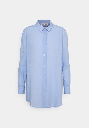 BUTTON UP BEACH SHIRT - Camicia - blue