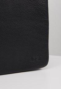 Jost - HYBRID MESSENGER BAG PEBBLE - Laptop bag - black - 2