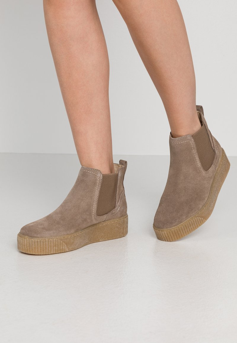 Tamaris - Ankle boots - taupe