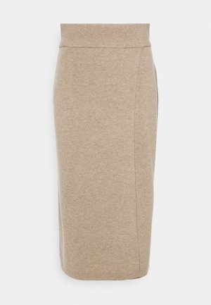 SKIRT - Pencil skirt - taupe