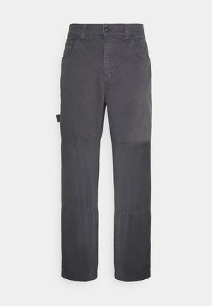UTILITY TROUSER - Spodnie materiałowe - grey