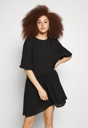 ENTEN DRESS - Vapaa-ajan mekko - black