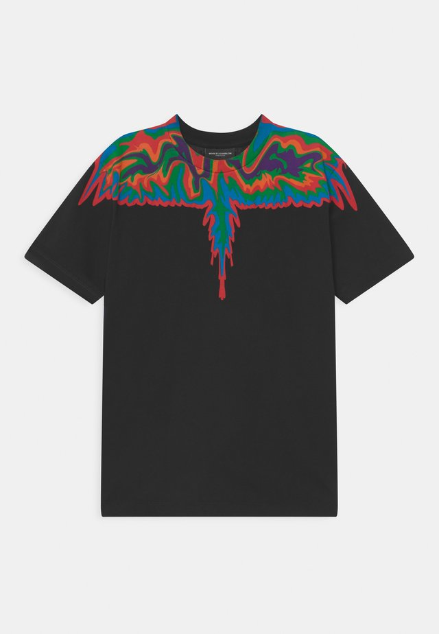 WINGS ABSTRACT - T-shirts med print - black
