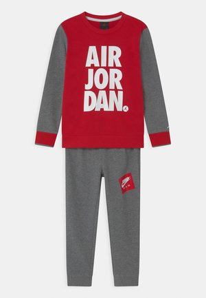 JUMPMAN CREW SET - Trainingspak - carbon heather