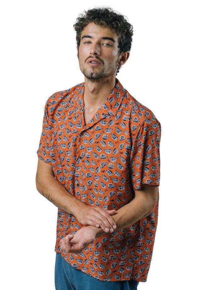 SCUBA FUGU - Vapaa-ajan kauluspaita - orange
