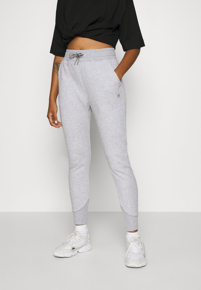 G-Star - PREMIUM CORE TAPERED PANT - Tracksuit bottoms - grey heather