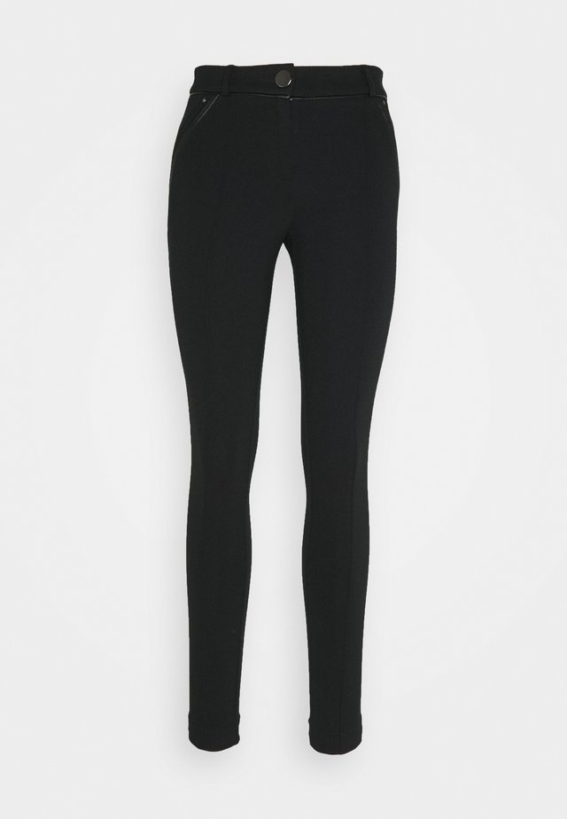 PONTE TREGGING - Leggings - Trousers - black