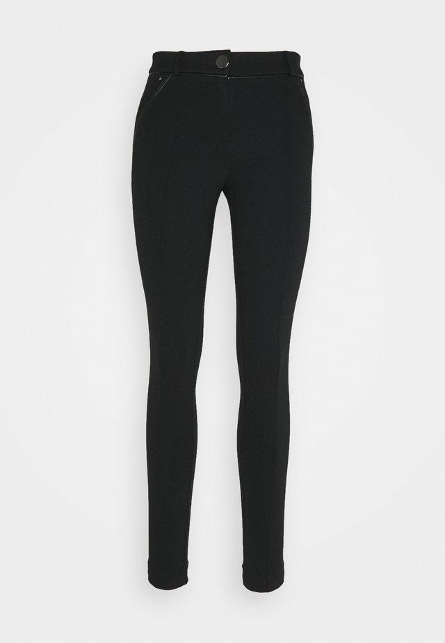 PONTE TREGGING - Legging - black