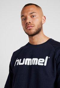 Hummel - GO LOGO - Sweatshirt - marine - 3