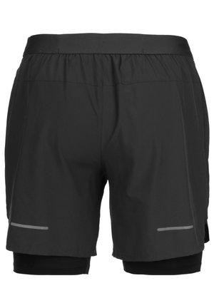 ROAD 2-IN-1 7IN LAUFSHORT HERREN - Sports shorts - graphite grey