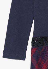 happy girls - TARTAN - Jerseyklänning - navy - 2
