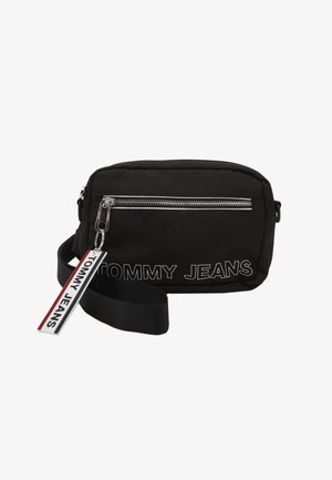LOGO TAPE CONV CROSSBODY - Olkalaukku - black