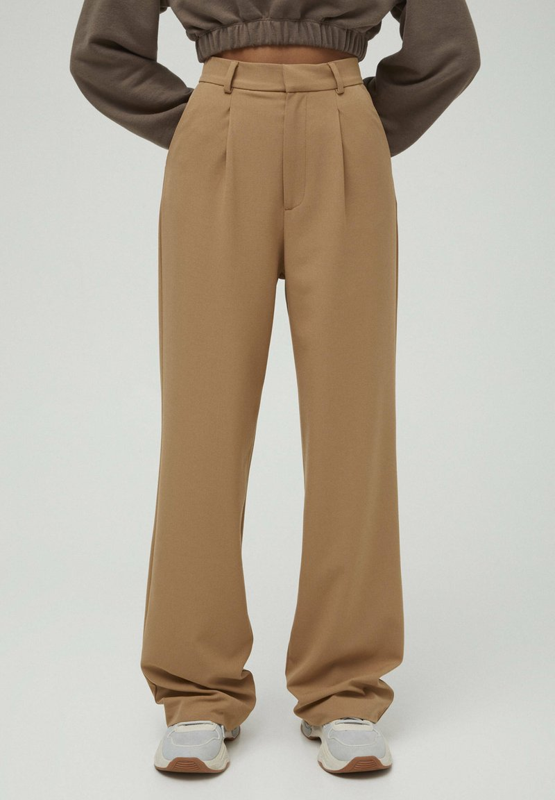 PULL&BEAR - Pantaloni - brown