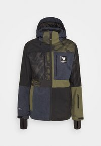 ARACIN PATCHWORK MENS SNOWJACKET - Snowboardová bunda - space blue
