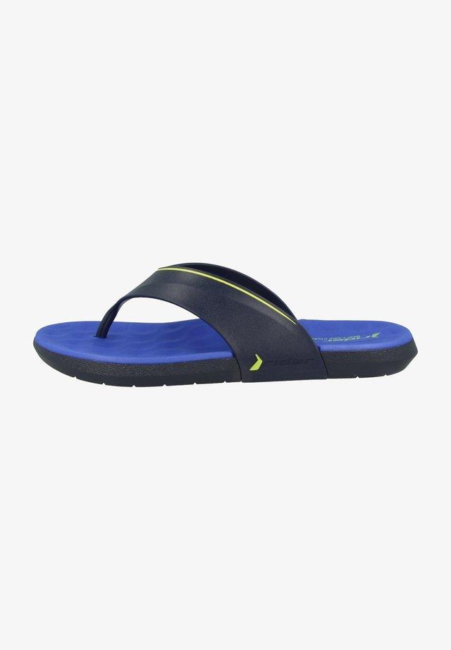 INFINITY IV THONG AD - Sandaler m/ tåsplit - blue