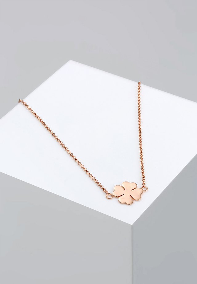 KLEEBLATT - Ketting - roségold-coloured