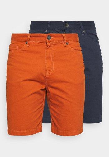 SHORT 2 PACK - Shorts - navy