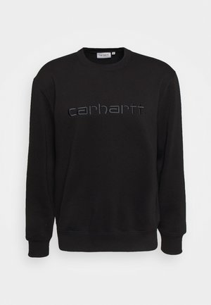 CARHARTT - Felpa - black/black