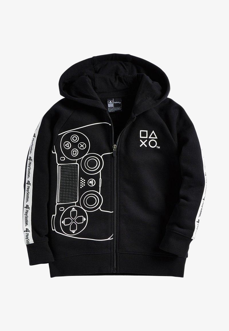 Next - Zip-up sweatshirt - black