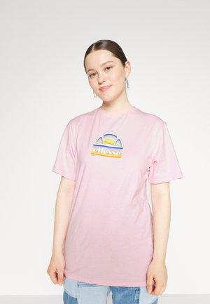 TARDI TEE - Print T-shirt - light pink