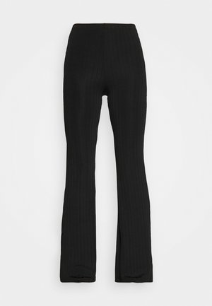 CASMIN FLARES - Trousers - black