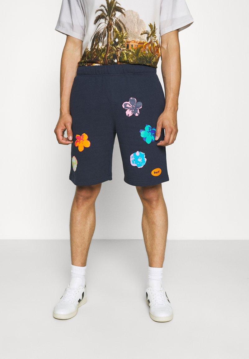 HUF - ADORED - Shorts - navy