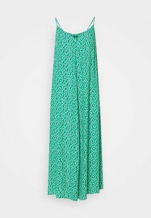 VMNORA NEW SINGLET CALF DRESS VIP - Day dress - simply green/nora/pink