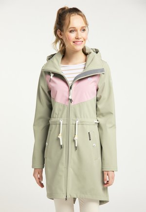 Short coat - pastelloliv